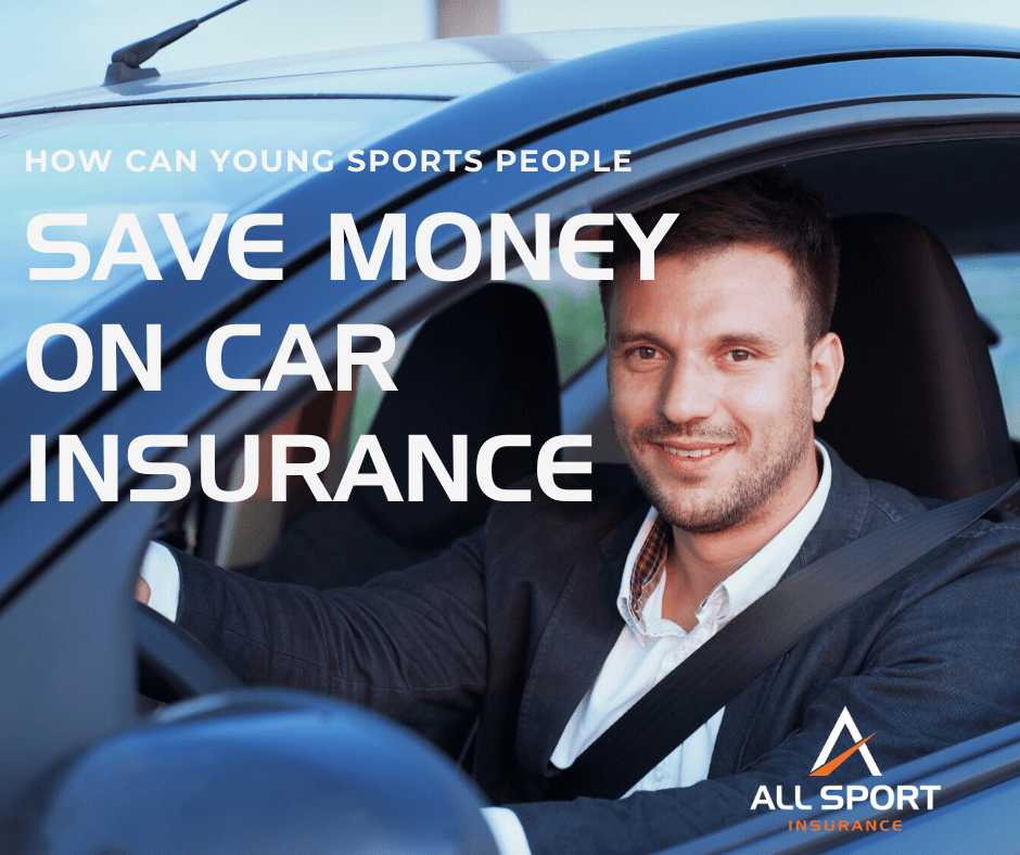 How can young drivers save money on their car insurance?