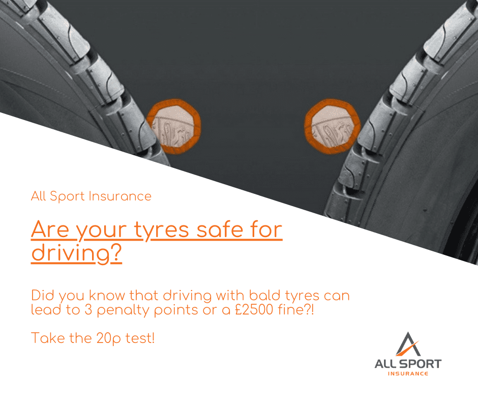 What is the legal tyre tread limit?